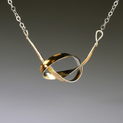 Knot Necklace - Gold Plated