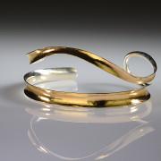 Gold Plated 2 Strand Bracelet